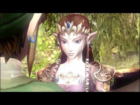 Naked ZELDA a link to the ass - Funny Skyward sword parody - 裸のゼルダ