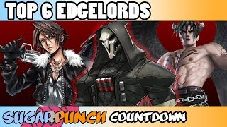 SugarPunch Countdowns: Top 6 Edgelords in Games & Anime