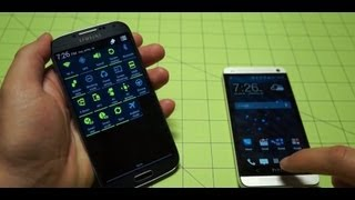 Galaxy S 4 vs HTC One