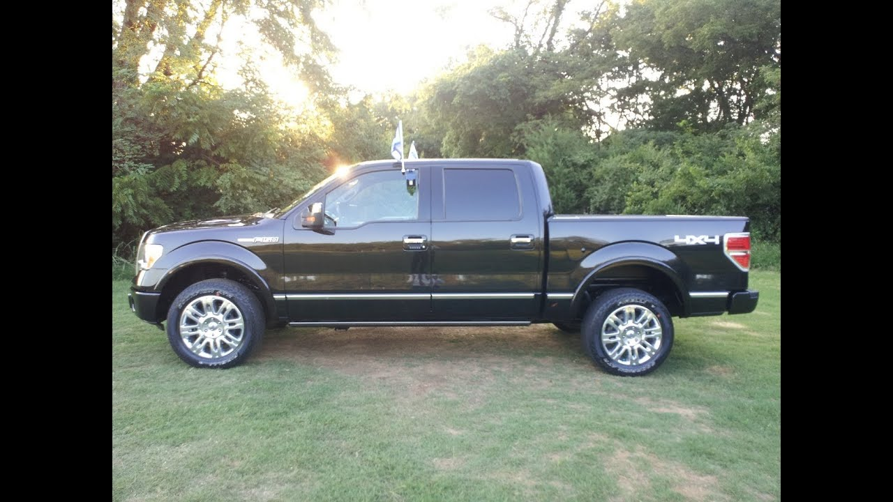 Sold 2010 Ford F 150 Platinum Supercrew 4x4 Ford Certified
