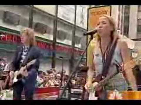 Sheryl Crow on Today Show Video