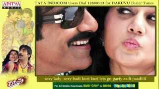 Daruvu - Daruvu Full Song - Sexy Lady Song With Lyrics