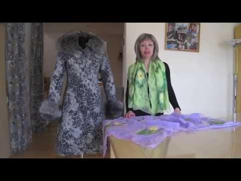 Валяние из шерсти одежда видеоролики мастер класс