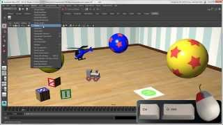 Softimage to Maya Bridge: Exploring Maya's Layout and Creating Shelves
