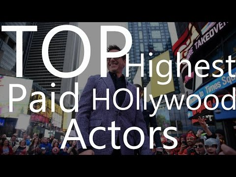 Top Highest Paid Hollywood Actors