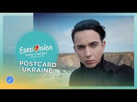 Postcard of MELOVIN from Ukraine - Eurovision 2018