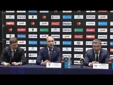 Сочи - Северсталь: пресс-конференция