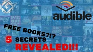 How to get FREE books on Audible (Legally)