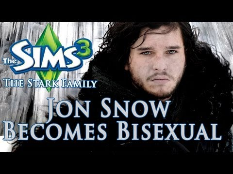 The Sims 3 - Jon Snow Becomes Bisexual (Game Of Thrones EP 8)