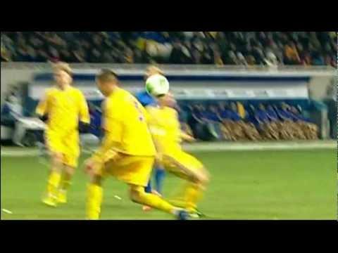 Украина - Молдова 2-1 ОБЗОР
