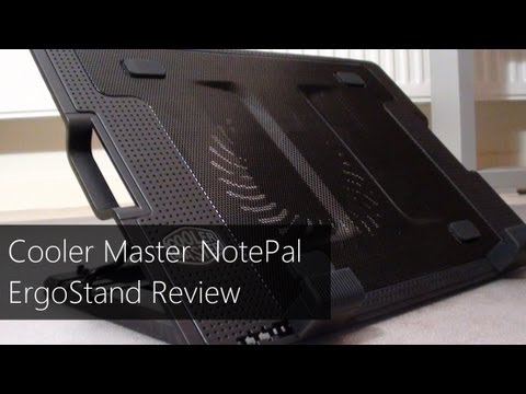 Cooler Master NotePal ErgoStand Laptop cooler Review & Unboxing