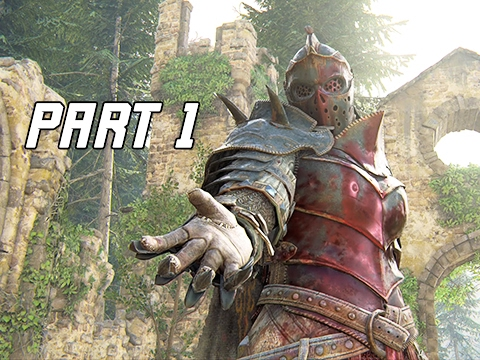 FOR HONOR Walkthrough Part 1 – APOLLYON Campaign Story Mode (PS4 Pro Let's Play Gameplay Commentary)