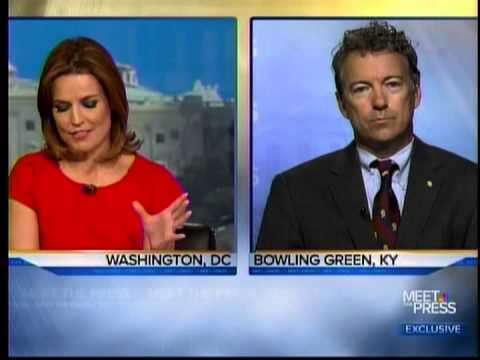 Sen. Paul Appears on Meet the Press- October 6, 2013
