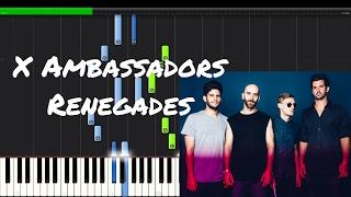 Download Lagu X Ambassadors - Renegades Piano Tutorial Gratis STAFABAND