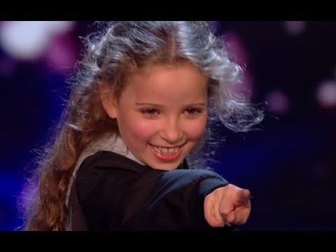 Little Magician Issy Blows Everyone Away With Her AMAZING Tricks | Semi Final 2 | BGT 2017