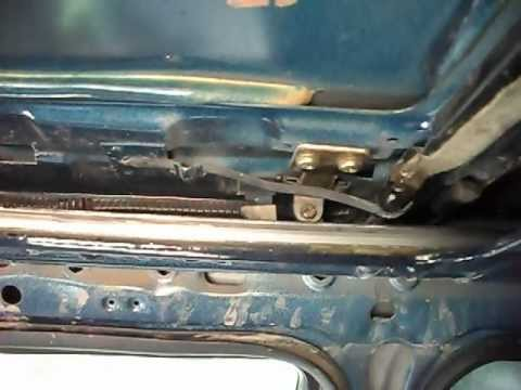 vw golf mk sunroof mechanism youtube