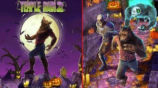 Temple Run 2 Spooky Summit - Halloween ! Wolfman