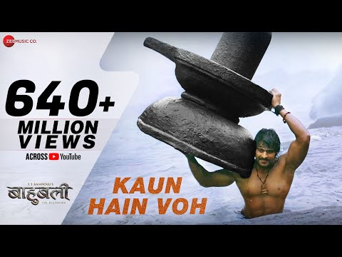 Kaun Hain Voh - Full Video | Baahubali - The  Beginning | Kailash Kher & Mounima | Prabhas