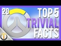 Download Top 5 TRIVIAL FACTS #20 - Overwatch in Mp3, Mp4 and 3GP