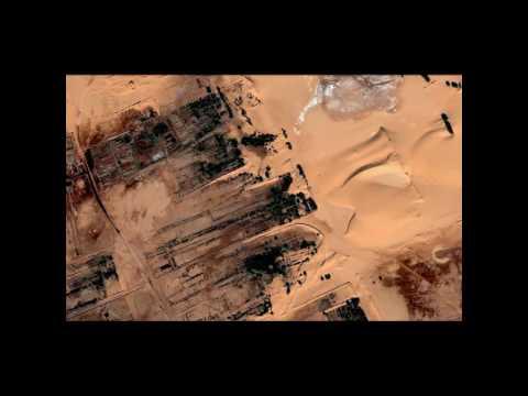 Algerie, In salah by satellite    صور عين صالح من قوقل