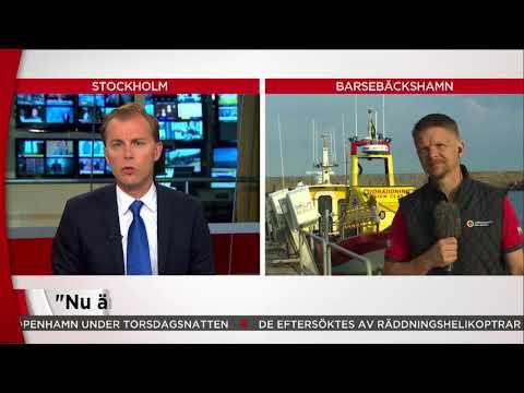 Sjöräddningssällskapet: Vi kommer inte att ge upp sökandet - Nyheterna (TV4)
