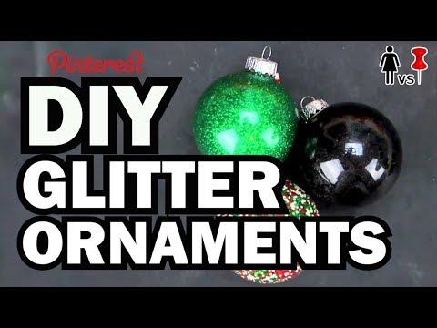 DIY Glitter Ornaments - Corinne Vs. Pin #6