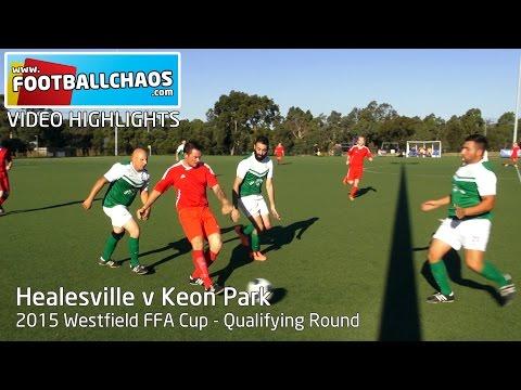 2015 FFA Cup - Healesville v Keon Park