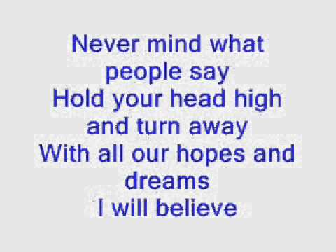 Yolanda Adams   I Believe  Lyrics video