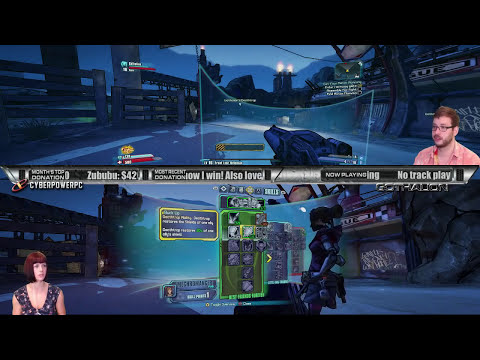 PC Splitscreen with my Wife! Making Her a Vault Hunter 8! TORGUE IS AWESOME!