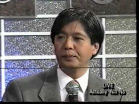 Kris Aquino Interview with Bong Bong Marcos Part 1