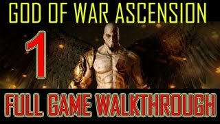 God of War Ascension - walkthrough part 1 let's play gameplay Full Game god of war 4 god of war ascension walkthrough ps3