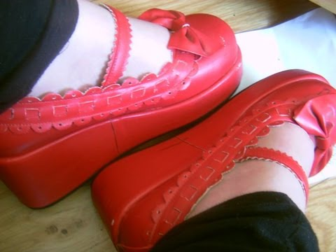 Red Lolita Shoes