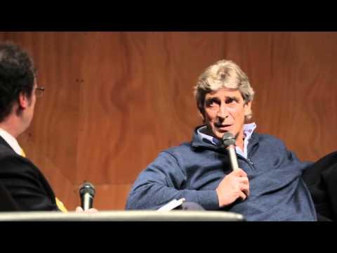Conversación con Manuel Pellegrini en Ingeniería UC, junio 2013