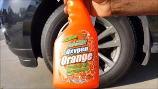 LA's Totally Awesome Orange Degreaser and Spot Remover Review Demo