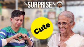 I Surprised My Grandma With A Meet And Greet | Ft. Shayan