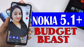 Nokia 5.1 Plus (X5) - Unboxing & Overview In HINDI