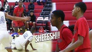 Watch Shaqir O'Neal's Teammate Miles Ceballos Break Defenders Ankles at Jordan Event!