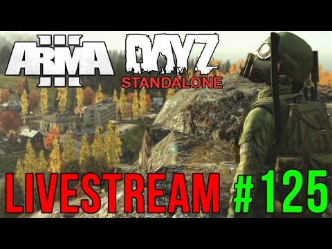 LIVESTREAM #125 | ARMA 3 / DAYZ | HOJE SEM COPOS