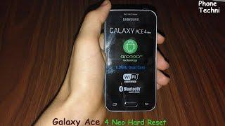 Samsung Galaxy Ace 4 Neo SM G318H Lento travando pedindo email e senha