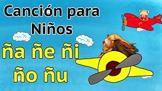Canción ña ñe ñi ño ñu - El Mono Sílabo - Videos Infantiles - Educación para Niños #
