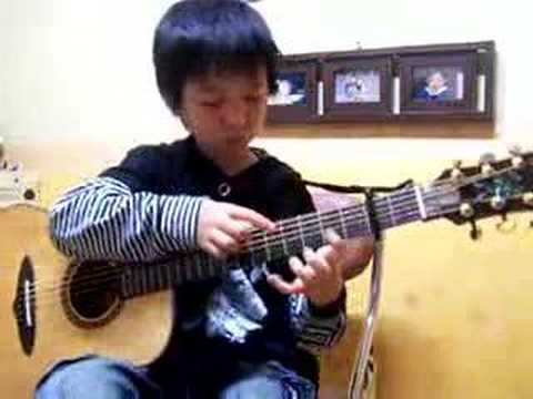 (pachelbel) Canon In D - Sungha Jung (2nd Time) video