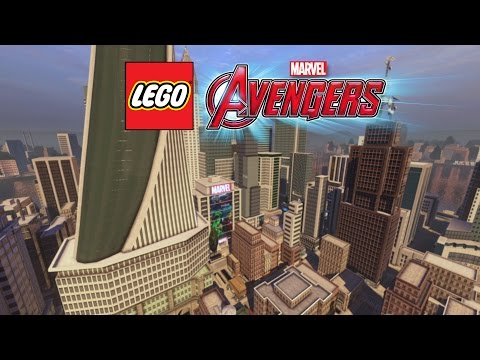 LEGO Marvel's Avengers Open World Trailer – Official