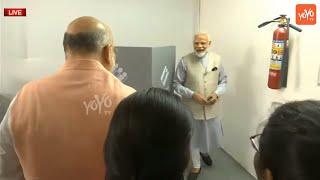 PM Modi Vote | Narendra Modi Vote From Ahmedabad | BJP | Lok Sabha Elections 2019