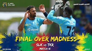 Final Over Madness | Kings vs Knight Riders | CPL 2021