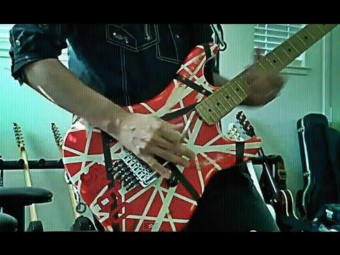 Very easy classic Eddie Van Halen guitar lick.