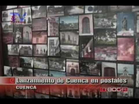 Lanzamiento de Cuenca en postales