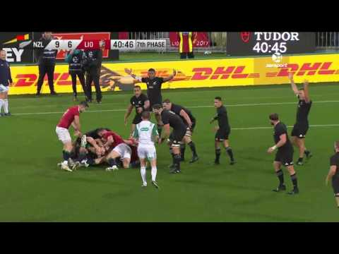 HIGHLIGHTS: All Blacks v British & Irish Lions Second Test