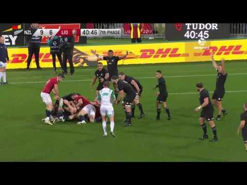 HIGHLIGHTS: All Blacks v British & Irish Lions Second Test