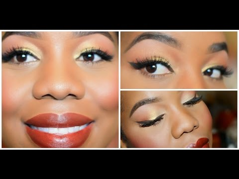 Fall Makeup Tutorial (beginner friendly) - Lovelyanneka