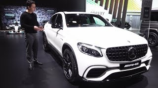 2018 Mercedes AMG GLC 63 S Coupe - NEW Full Review Interior Exterior Sound